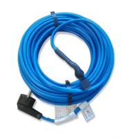 Câble chauffant de maintien hors-gel pour canalisation avec prise